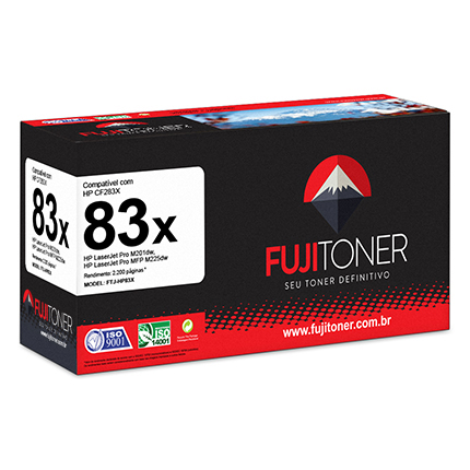 toner fujitoner ftj hp83x compativel com hp laserjet pro